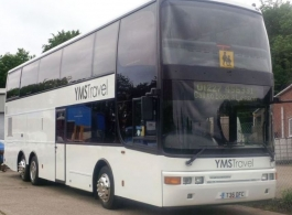 Double deck Modern wedding bus hire in Canterbury